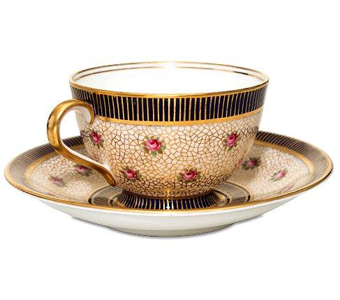 エインズレイ 1940-1960年代 ピンクローズ コーヒーカップ&ソーサー Aynsleyの写真No.2