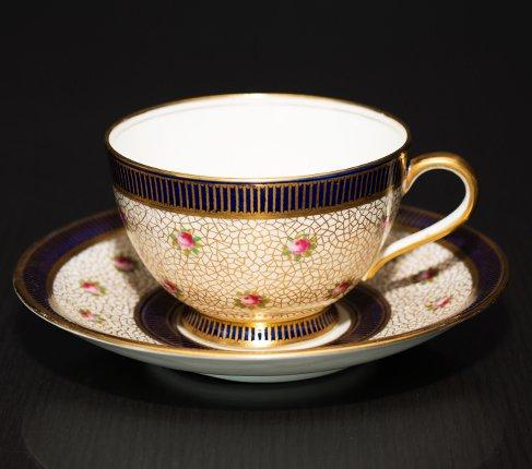 エインズレイ 1940-1960年代 ピンクローズ コーヒーカップ&ソーサー Aynsleyの写真No.3