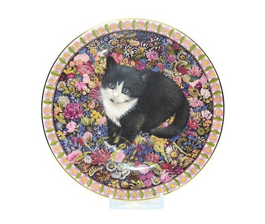 エインズレイ/Aynsley Meet My Kittens 10月 チェスタトン/Chesterton キャットプレートの写真