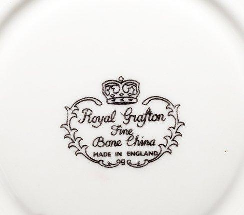 ロイヤルグラフトン フローラル・レッド ティーカップ&ソーサー Royal Graftonの写真No.5