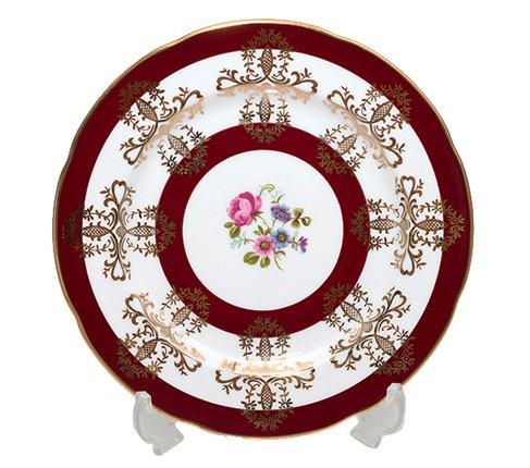 Royal Grafton ロイヤルグラフトン フローラル・レッド プレート16cm  丸皿 パン皿 平皿 食器 の写真