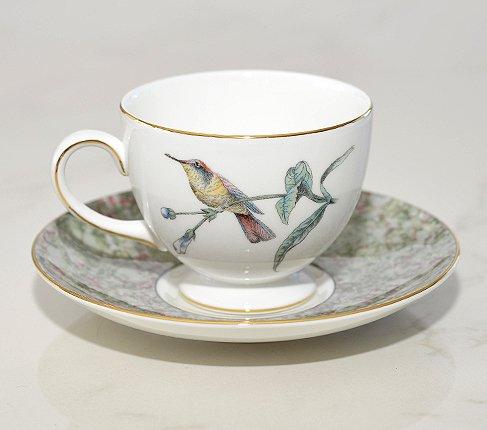 【送料無料】ウェッジウッド ハミングバード カップ&ソーサー リー Humming Birdsの写真No.2