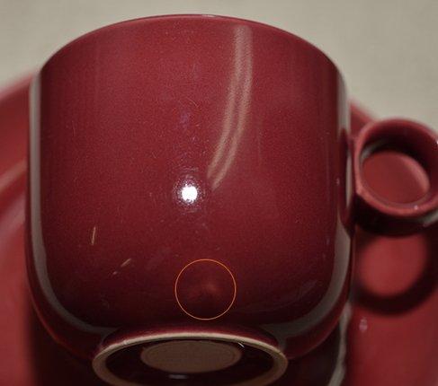 Rosenthal ローゼンタール テラロッサ Terra Rossa コーヒーカップ &ソーサー  ローゼンタール カップの写真No.5
