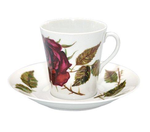 アラビア/ARABIA ヴァルチラ/WARTSILA 赤い薔薇 コーヒーカップ&ソーサー の写真No.2