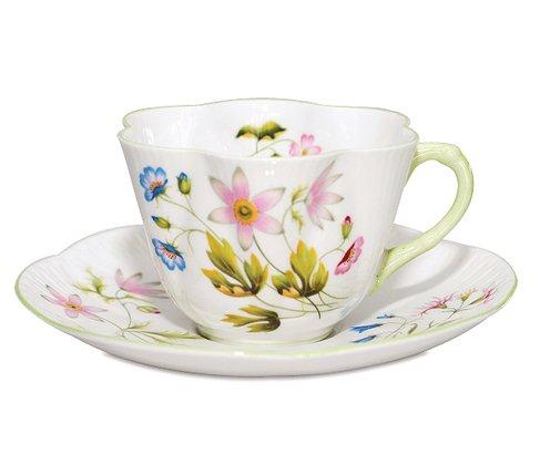 【送料無料】シェリー ワイルドアネモネ コーヒーカップ&ソーサー ディンティー No.13977 の写真
