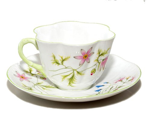 【送料無料】シェリー ワイルドアネモネ コーヒーカップ&ソーサー ディンティー No.13977 の写真No.3