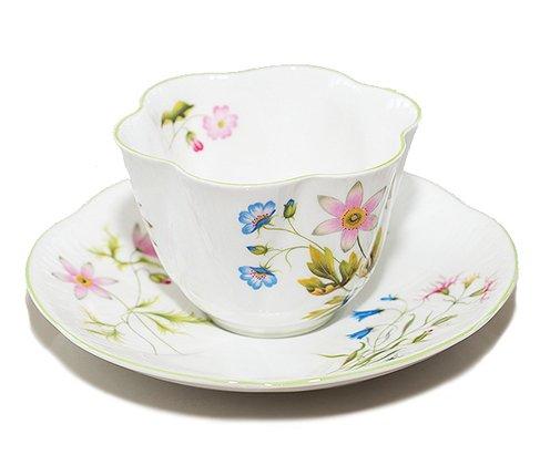【送料無料】シェリー ワイルドアネモネ コーヒーカップ&ソーサー ディンティー No.13977 の写真No.4