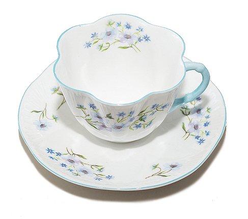 シェリー ブルーロック コーヒーカップ&ソーサー ディンティー No.13591 Blue Rockの写真No.2