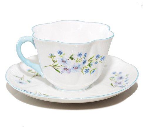 シェリー ブルーロック コーヒーカップ&ソーサー ディンティー No.13591 Blue Rockの写真No.3