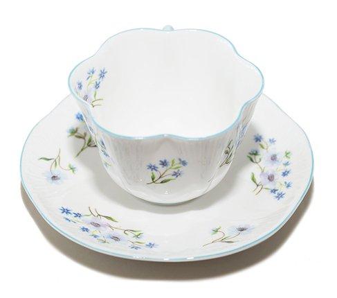シェリー ブルーロック コーヒーカップ&ソーサー ディンティー No.13591 Blue Rockの写真No.4