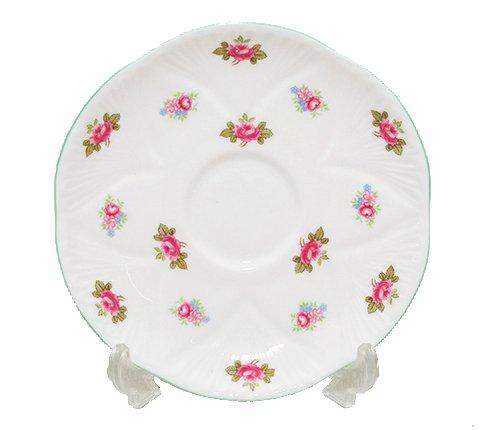 【送料無料】シェリー ローズバッド コーヒーカップ&ソーサー ディンティー No.13426 お花のような 可愛いカップ キュート 兼用カップ の写真No.6