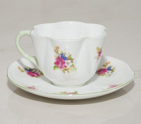 シェリー ローズブーケ コーヒーカップ&ソーサー ディンティー No.13248 の写真No.2