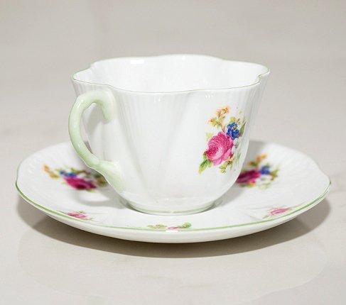 シェリー ローズブーケ コーヒーカップ&ソーサー ディンティー No.13248 の写真No.3