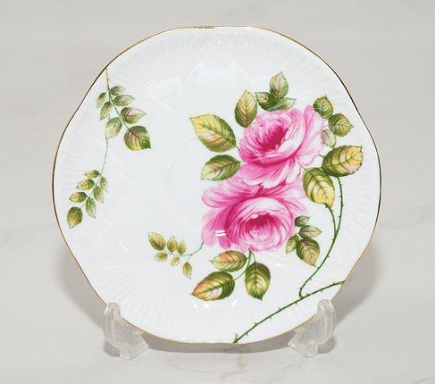 【送料無料】シェリー Rambler Rose コーヒーカップ&ソーサー ディンティー No.13428の写真No.6