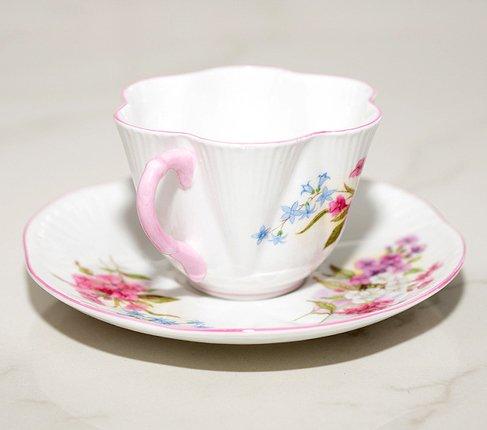 【送料無料】シェリー ストック/Stocks コーヒーカップ&ソーサー ディンティー No.13428 の写真No.5