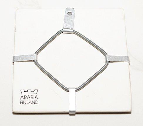 ARABIA アラビア ヘルヤ 12cm陶板画 1996年 赤ちゃん/Baby  アラビア 雑貨 【セール】の写真No.3