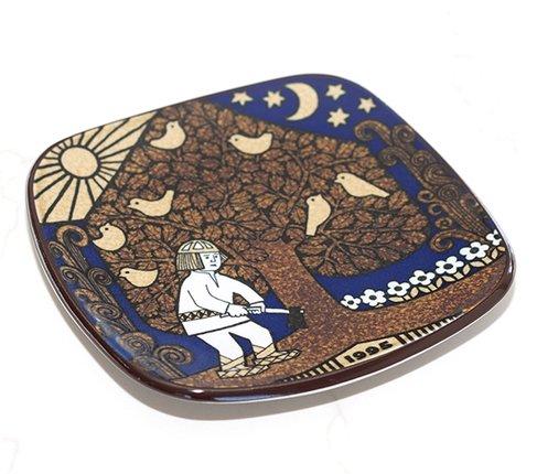 【送料無料】アラビア カレワラ イヤープレート 1995年 ARABIA Kalevala アラビア 食器の写真No.2