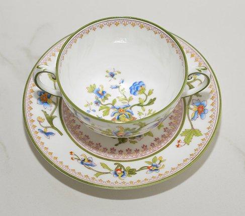 コールポート フラワーポット手付きスープカップ&ソーサー の写真No.2