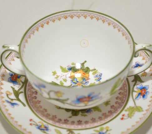 コールポート フラワーポット手付きスープカップ&ソーサー の写真No.4