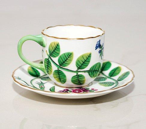 【送料無料】ロイヤルウースター Connoisseur Collectionブラインドアール(盲目の伯爵)デミタスコーヒーカップ&ソーサーの写真No.3