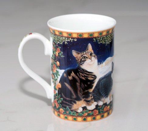 ダンバリーミント Lesley's Catsマグカップ Danbury mintの写真No.3
