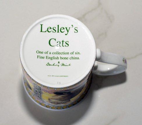 ダンバリーミント Lesley's Catsマグカップ Danbury mintの写真No.5