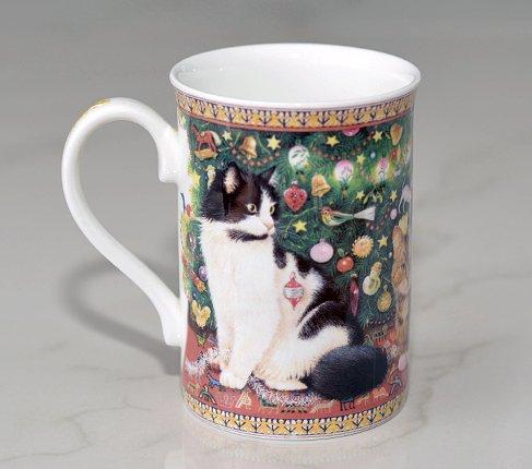 ダンバリーミント Lesley's Catsマグカップ Danbury mintの写真No.2