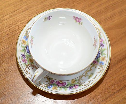 ババリア ドレスデンリッチ ティーカップ&ソーサー bavariaの写真No.5