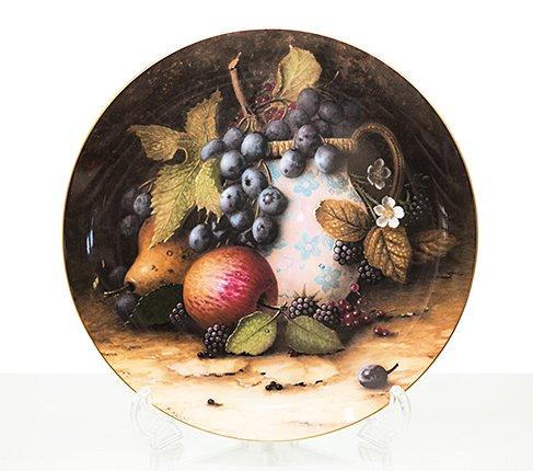 【送料無料】コールポート Still Life Fruit 陶器の水差しと果物の写真