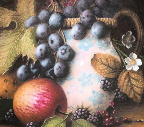 【送料無料】コールポート Still Life Fruit 陶器の水差しと果物の写真No.2