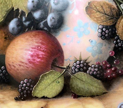 【送料無料】コールポート Still Life Fruit 陶器の水差しと果物の写真No.3