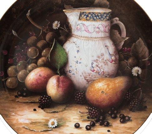【送料無料】コールポート Still Life Fruit カーフレイの水差しと果物の写真No.2