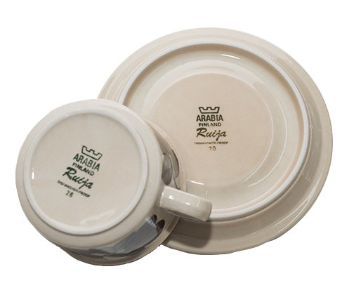 ARABIA アラビア ルイージャ ティーカップ &ソーサー アラビア 食器 ヴィンテージの写真No.6