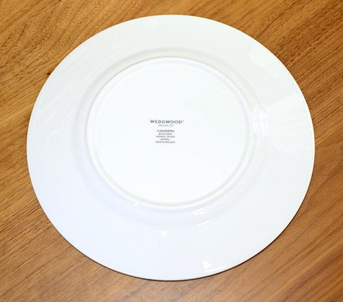 ウェッジウッド アレクサンドラ カップ&ソーサープレート21cm WEDGWODD 廃盤の写真No.5