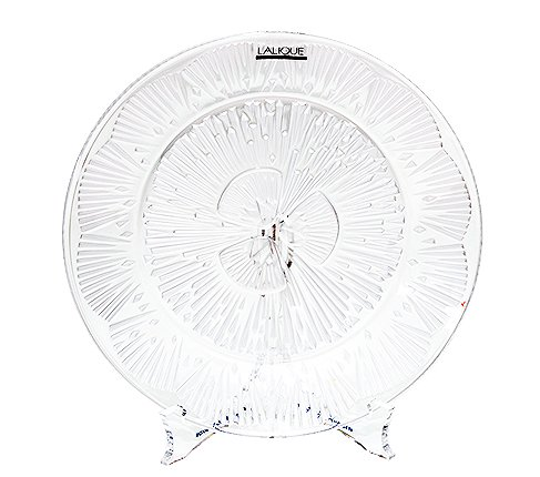 LALIQUE ラリック クリスタル プレート 21cm  ラリック 飾り皿 食器【送料無料】の写真