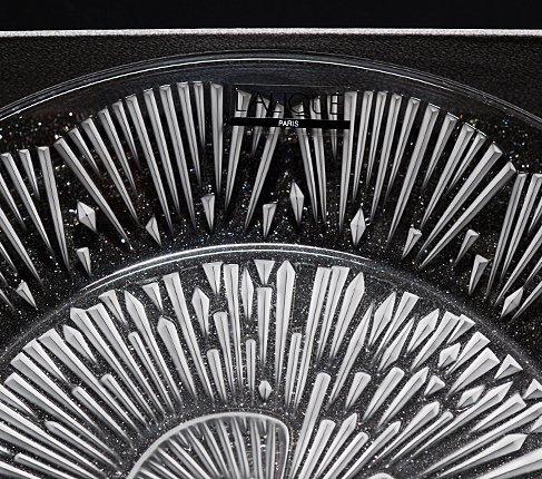 LALIQUE ラリック クリスタル プレート 21cm  ラリック 飾り皿 食器【送料無料】の写真No.5