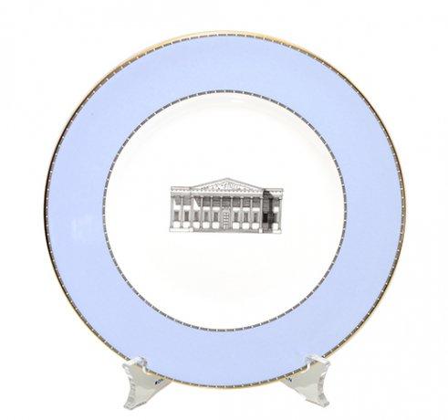 ウェッジウッド グランドツアーコレクション ロンドン大英博物館サラダプレート21cm WEDGWODD 廃盤の写真