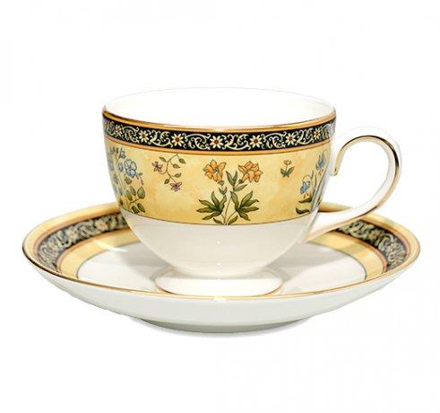 WEDGWODD ウェッジウッド インディア カップ&ソーサー リー 兼用 紅茶 コーヒーカップ アンティークカップ usedの写真