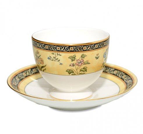 WEDGWODD ウェッジウッド インディア カップ&ソーサー リー 兼用 紅茶 コーヒーカップ アンティークカップ usedの写真No.2