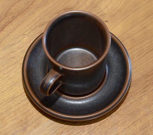 アラビア ルスカ コーヒーカップ&ソーサーARABIA Ruska Ulla Procope 廃盤の写真No.7