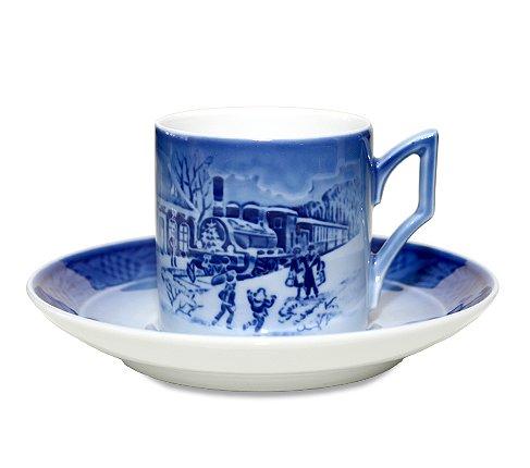 ROYAL COPENHAGEN ロイヤルコペンハーゲン イヤーカップ&ソーサー 1993年 コーヒーカップ &ソーサーの写真