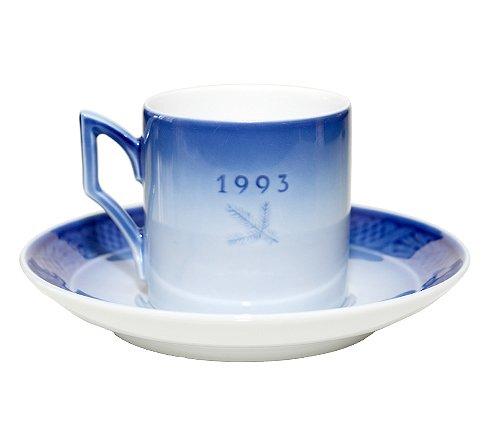 ROYAL COPENHAGEN ロイヤルコペンハーゲン イヤーカップ&ソーサー 1993年 コーヒーカップ &ソーサーの写真No.2