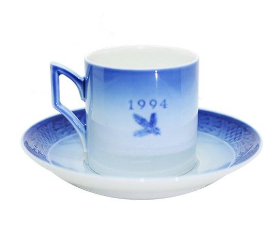 ROYAL COPENHAGEN ロイヤルコペンハーゲン イヤーカップ&ソーサー 1994年 コーヒーカップ &ソーサーの写真No.2