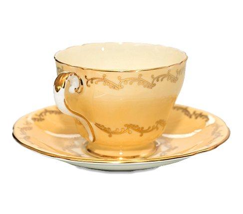 エインズレイ フラワーブーケ イエロー コーヒーカップ&ソーサー Aynsley の写真No.2