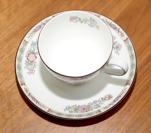 WEDGWODD ウェッジウッド クタニクレーン カップ&ソーサー リー 兼用 紅茶 食器 usedの写真No.6