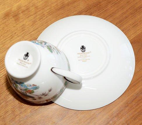 WEDGWODD ウェッジウッド クタニクレーン カップ&ソーサー リー 兼用 紅茶 食器 usedの写真No.7