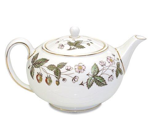 ウェッジウッド ストロベリーヒル ティーポット WEDGWODD 紅茶 サーバー 廃盤 希少【セール】 の写真No.2
