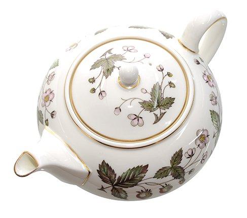 ウェッジウッド ストロベリーヒル ティーポット WEDGWODD 紅茶 サーバー 廃盤 希少【セール】 の写真No.3