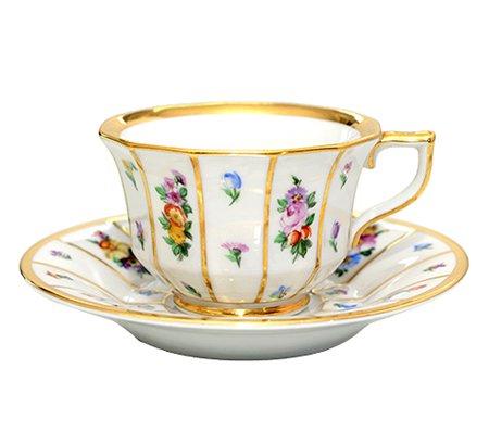 【送料無料】【入手困難】ロイヤルコペンハーゲン ヘンリエッテ コーヒーカップ&ソーサー 8562(デミタス) ROYAL COPENHAGEN Henriette 廃盤 希少の写真