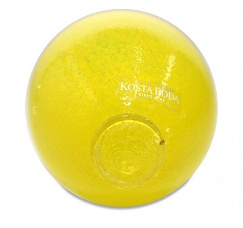 【送料無料】コスタボダ Gunnel Sahlin Frutteria ガラスのオブジェ レモン KOSTA BODAの写真No.3